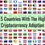 The 5 Countries With The Highest Cryptocurrency Adoption