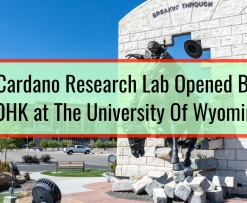 Cardano Research Lab Opened By IOHK at The University Of Wyoming