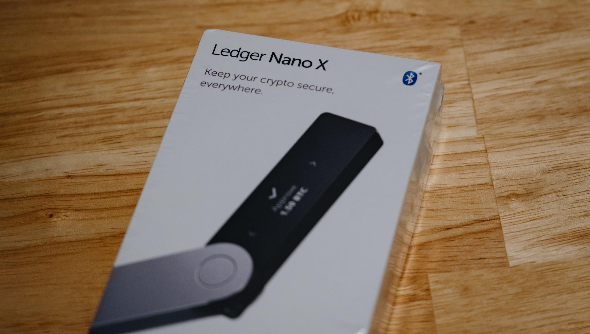 ledger hardware crypto wallet
