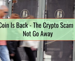 OneCoin Is Back - The Crypto Scam Does Not Go Away