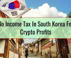 No Income Tax In South Korea For Crypto Profits