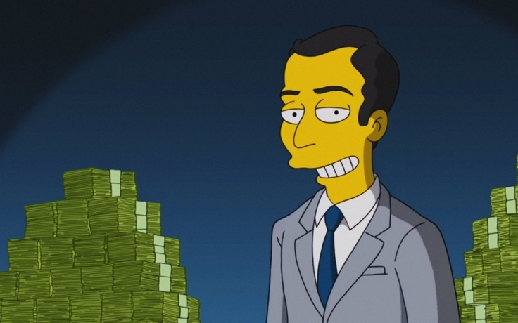 """The Simpsons Showcase Crypto, Calling It """"Cash Of The Future"""""""