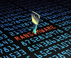 ransomware attacks down