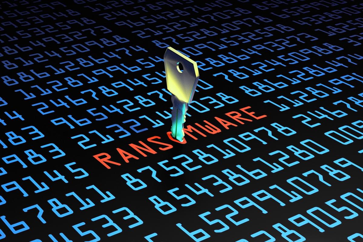 ransomware attacks down